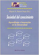 Portada Sociedad del conocimiento Aprendizaje e Innovación en la Universidad